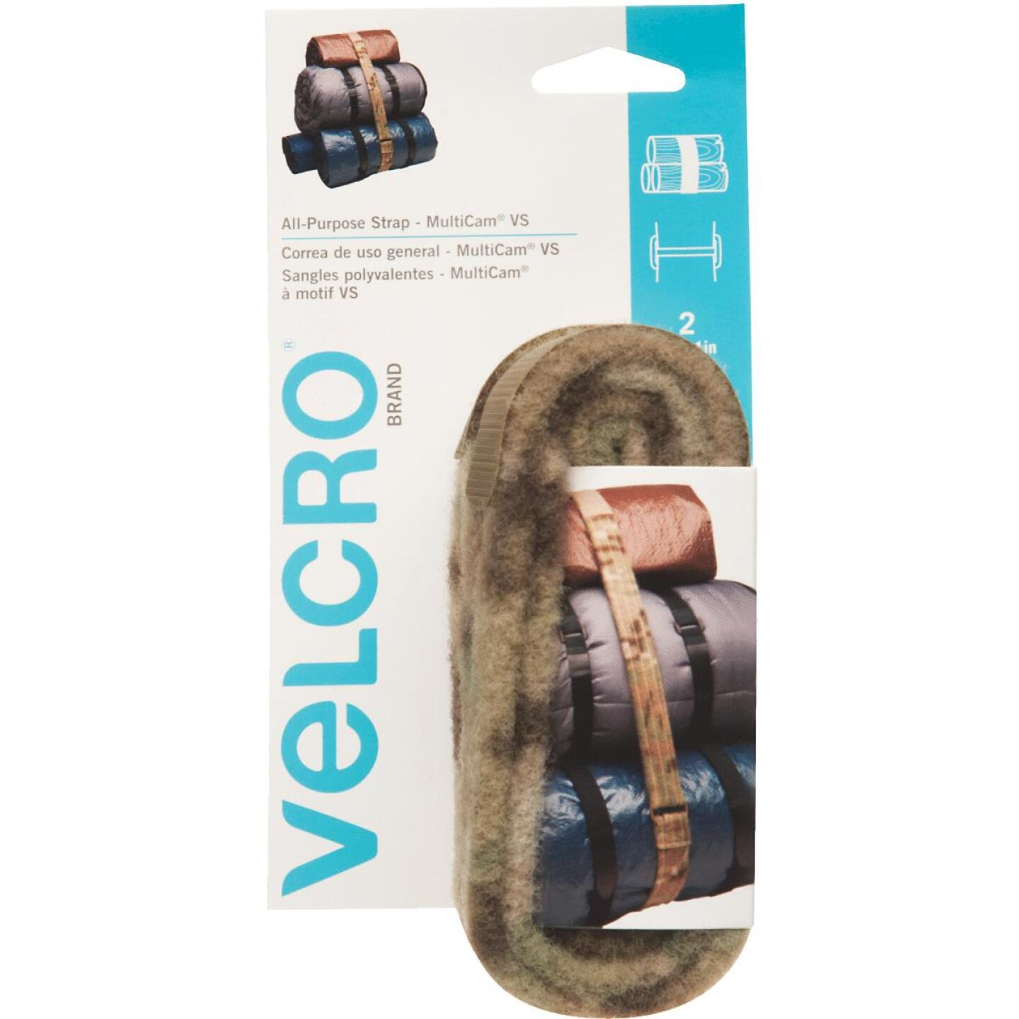 VELCRO Brand Camouflage 4 Ft. All Purpose Tie Down Strap Image 1