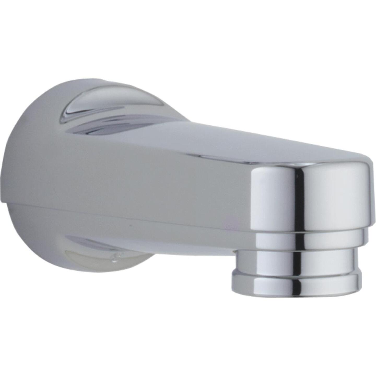 Delta 6-1/8 In. Chrome Bathtub Spout with Diverter Image 1