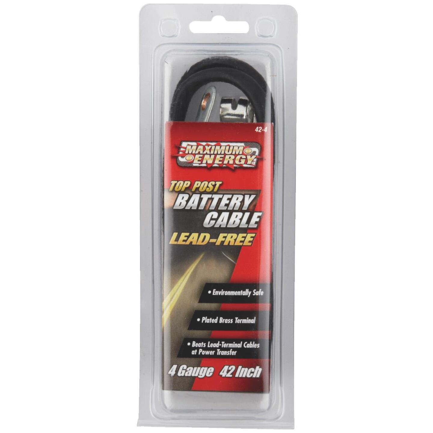"""Road Power 4 Gauge 42"""" Top Post Battery Cable Image 2"""