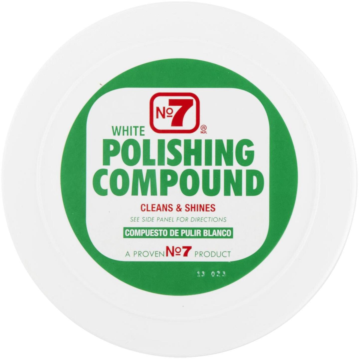 NO. 7,  10 oz Paste White Polishing Compound Image 3