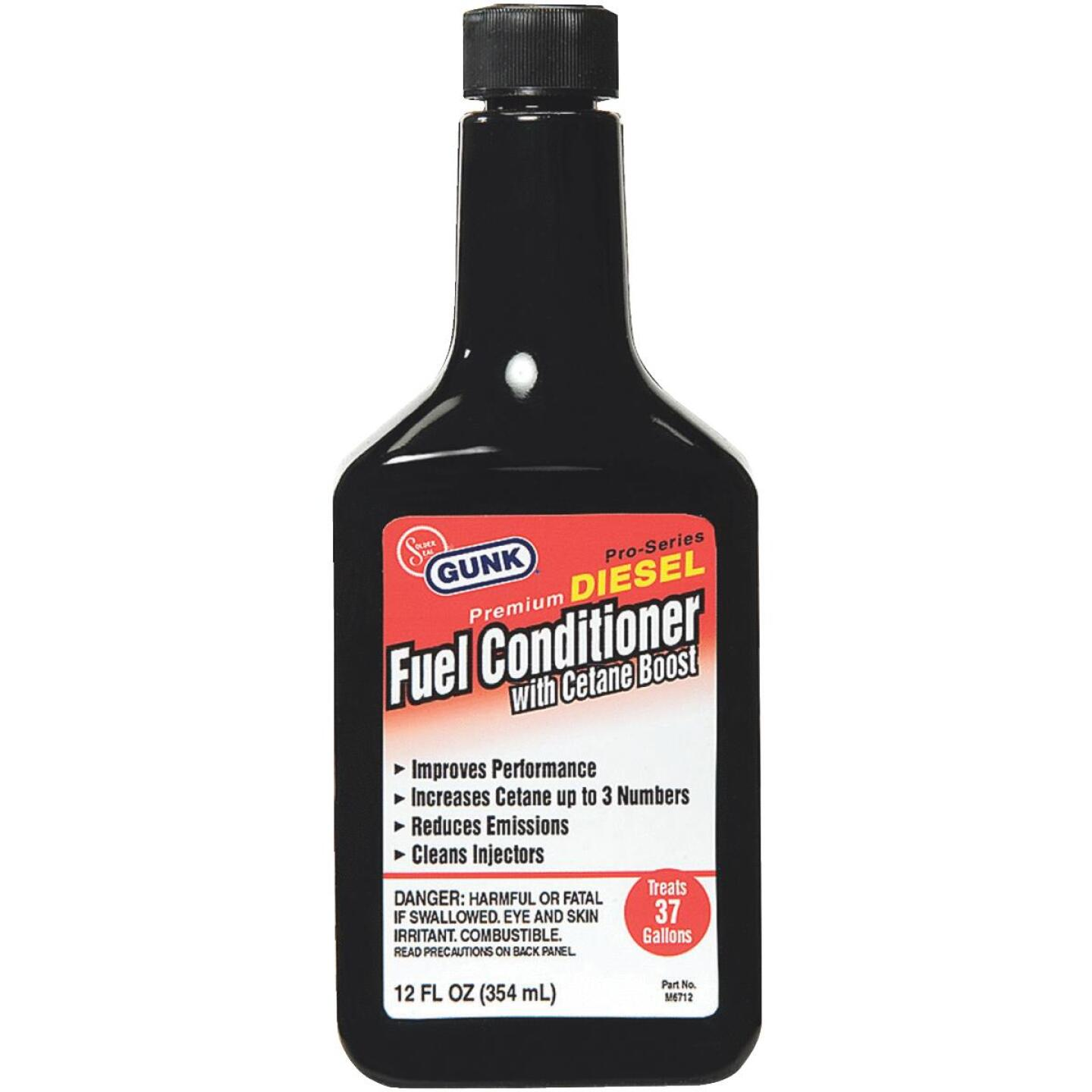 Gunk 12 Oz. Diesel Additive Fuel Conditioner with Cetane Boost Image 1