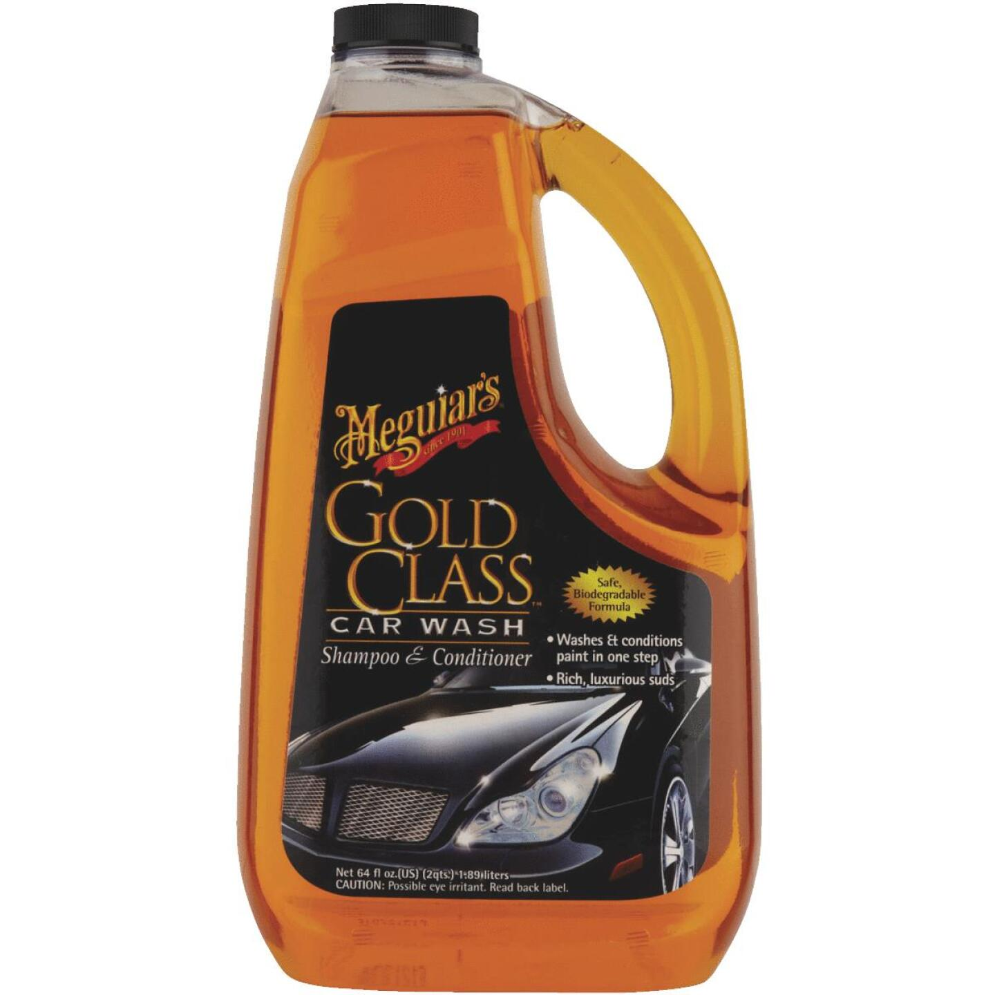 Meguiars Gold Class Liquid 64 oz Car Wash Image 2