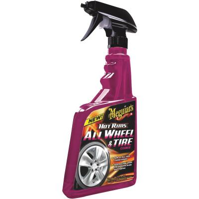 Meguiars Hot Rims 24 oz Trigger Spray Wheel Cleaner