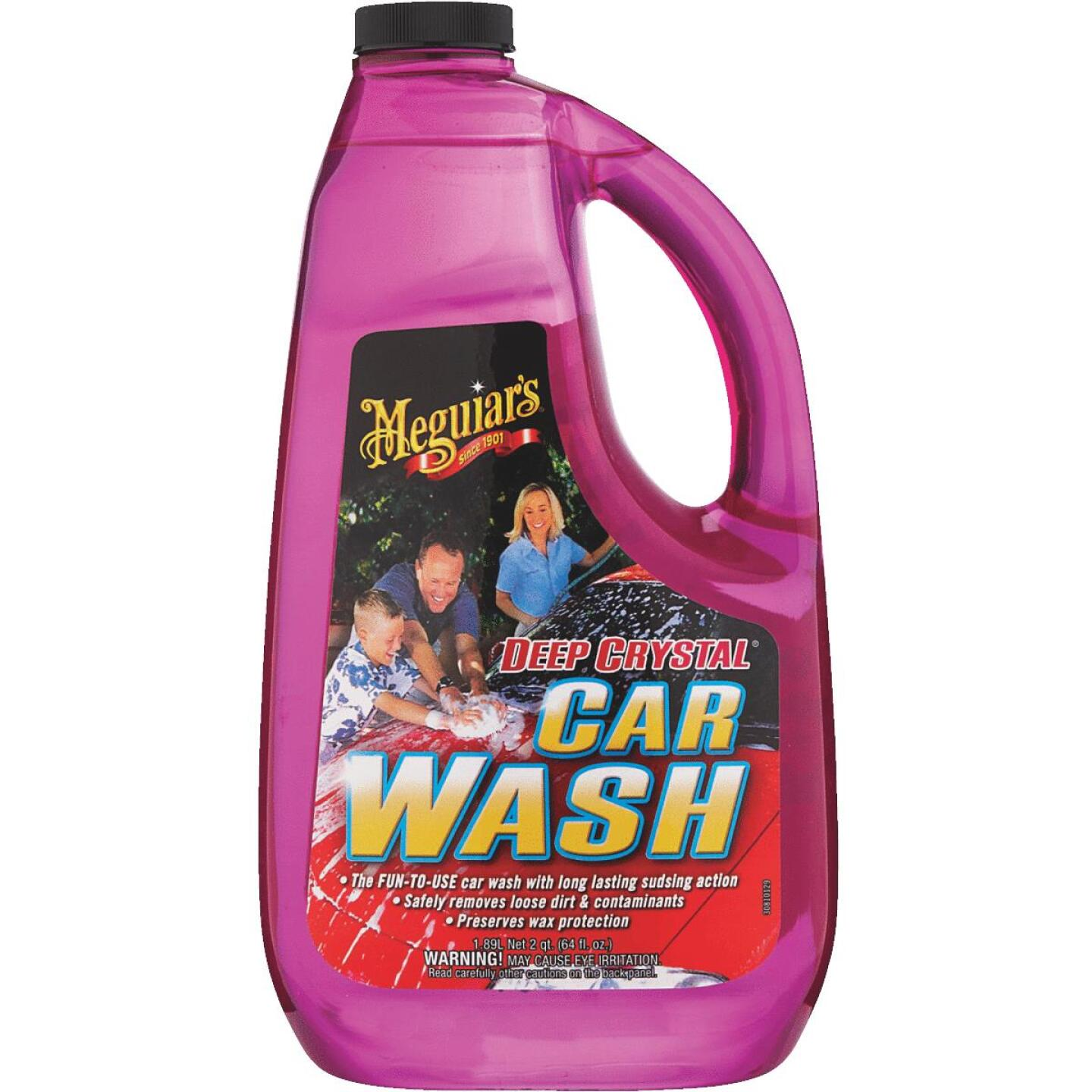 Meguiars Deep Crystal Liquid 64 oz Car Wash Image 1