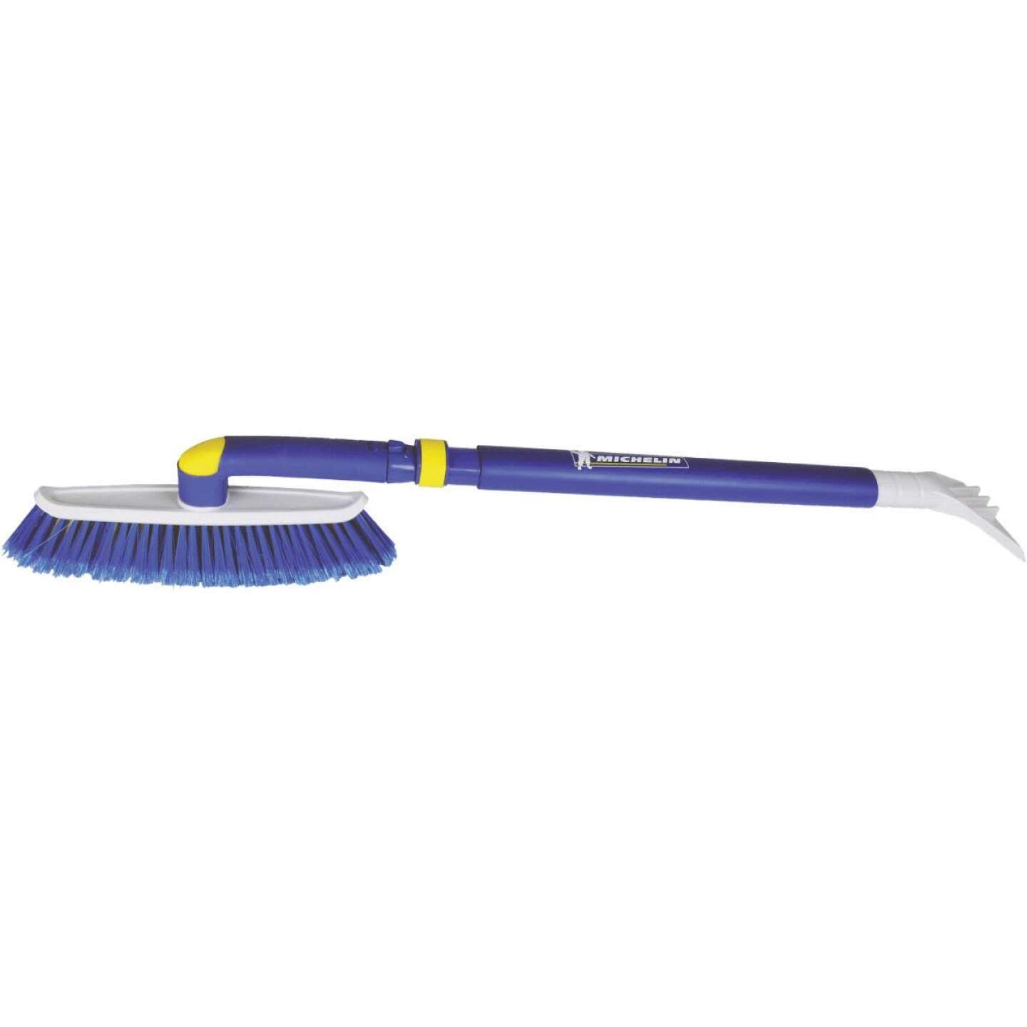 Michelin 48 In. Steel Extender Snowbrush with Ice Scraper Image 1