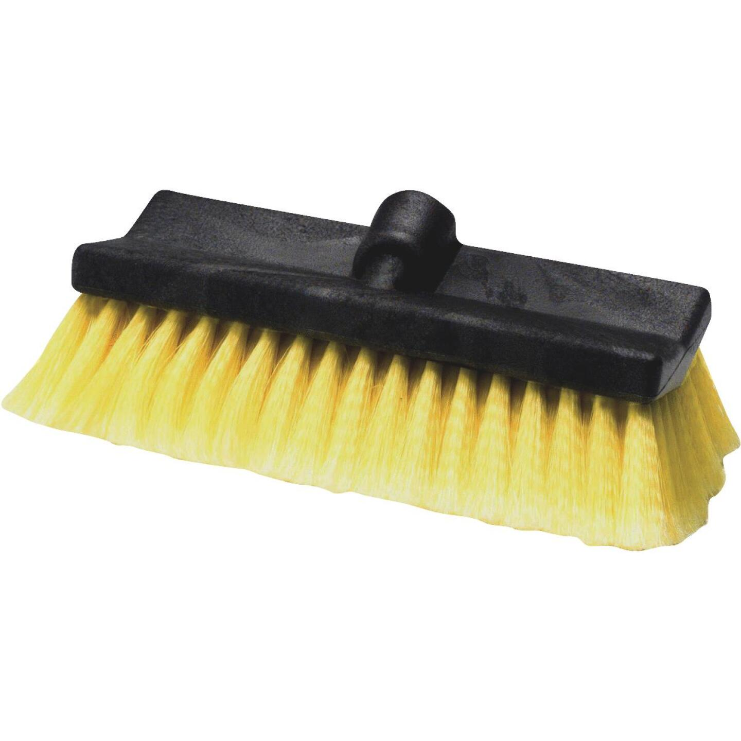 "Carrand Synthetic 10"" Yellow Wash Brush Image 1"
