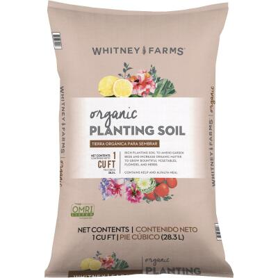 Whitney Farms 1 Cu. Ft. All Purpose Organic Planting Garden Soil