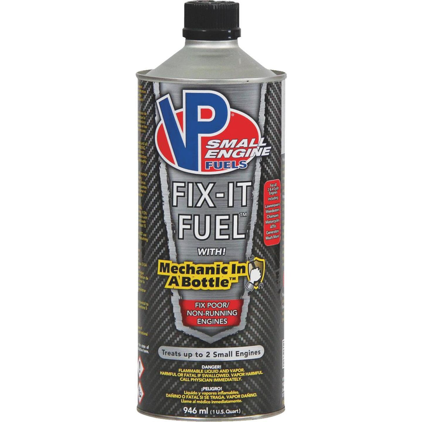 VP Small Engine Fuels 32 Oz. Fix-It Fuel System Cleaner with Mechanic In-a-Bottle Image 1