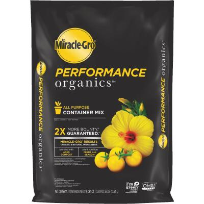 Miracle-Gro Performance Organics 16 Qt. All Purpose Container Mix